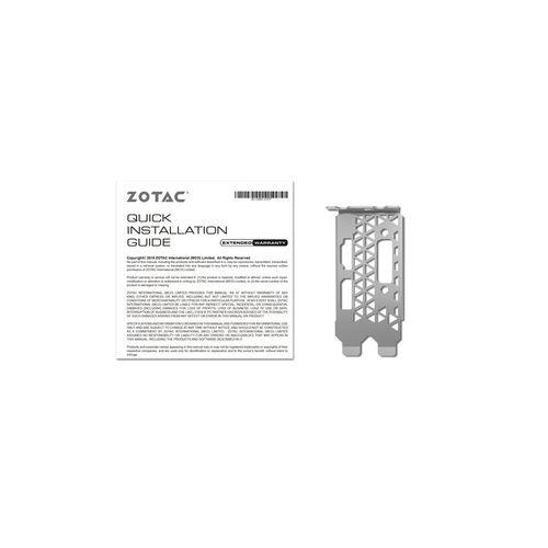 TARJETA GRÁFICA ZOTAC GTX 1050 LOW PROFILE 2GB GDDR5 | Quonty.com | ZT-P10500E-10L