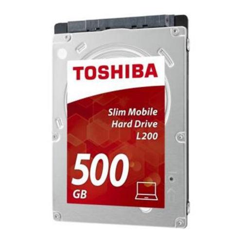 HDD TOSHIBA 2.5'' 500GB 5400RPM 8MB SATA3 L200 SLIM | Quonty.com | HDWK105UZSVA
