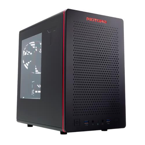 TORRE MINI ITX RIOTORO CR280 NEGRO | Quonty.com | CR280