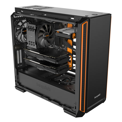 Caja Semitorre/E-Atx Be Quiet! Silent Base 601 Orange | Quonty.com | BG025