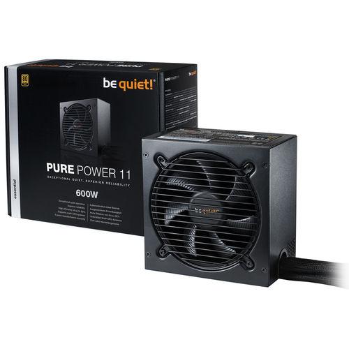 Fuente Be Quiet! Pure Power 11 600w 80+Gold Atx   Quonty.com   BN294