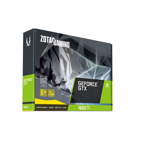 TARJETA GRAFICA ZOTAC GTX 1660TI GAMING 6GB GDDR6   Quonty.com   ZT-T16610F-10L