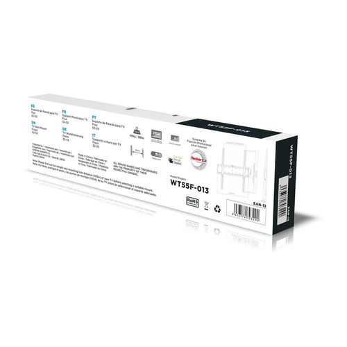 "SOPORTE TV/MONITOR AISENS WT55F-013 32""-55"" 40KG NEGRO   Quonty.com   WT55F-013"