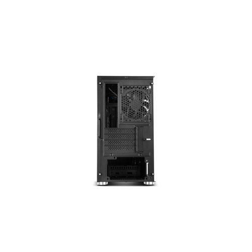 Minitorre Hummer Fusion S S/Fuente Usb 3.0 Argb Negro | Quonty.com | NXHUMMERFSNS