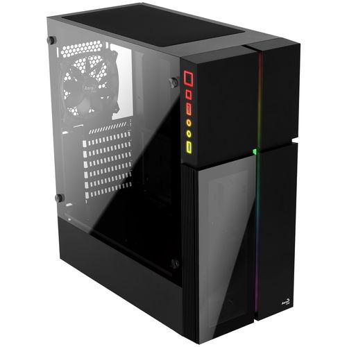 CAJA SEMITORRE AEROCOOL PLAYAXL S/FUENTE USB3.0 RGB LED | Quonty.com | PLAYAXL