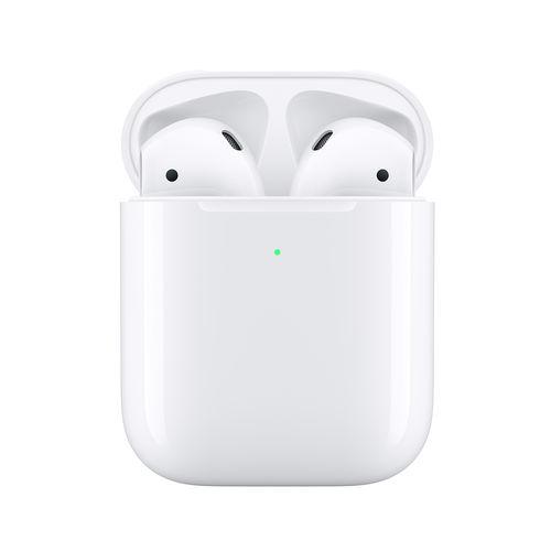 Apple Airpods V2 Con Micrófono Y Estuche De Carga Inalámbric | Quonty.com | MRXJ2TY/A