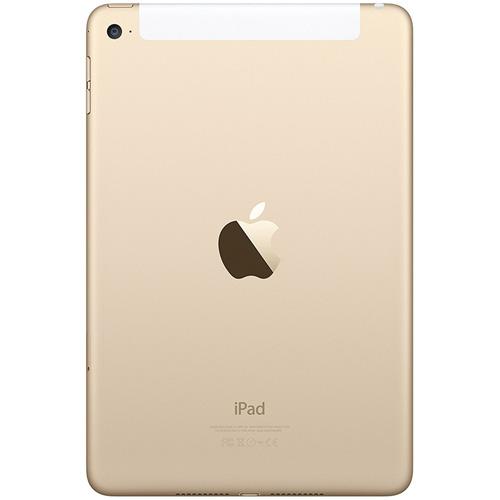 IPAD MINI 4 16GB WIFI+CELL 7.9'' DUALCORE 2GB+16GB 4G IOS10 GOLD | Quonty.com | MK712TY/A