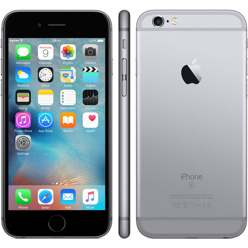IPHONE 6S 4.7'' DUALCORE 2GB/32GB 4G 5/12MPX GRIS ESPACIAL | Quonty.com | MN0W2QL/A