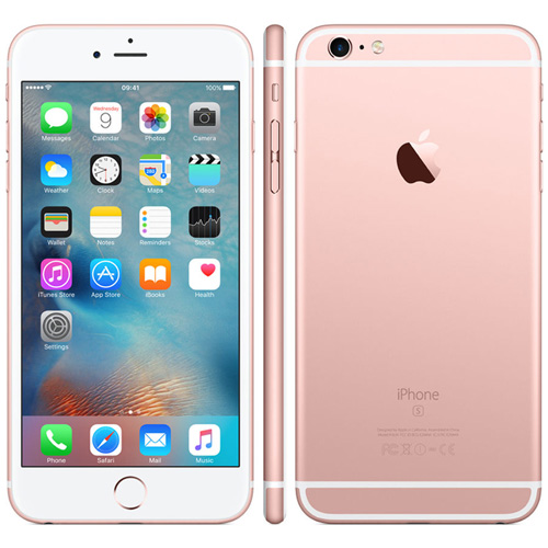 APPLE IPHONE 6S PLUS 128GB 5.5''FHD DUALCORE 2GB/128GB 4G 5/12MPX 1SIM IOS10 ORO ROSA | Quonty.com | MKUG2QL/A