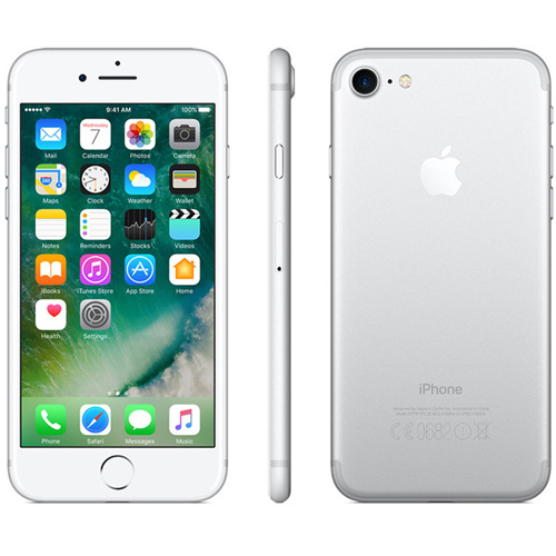 APPLE IPHONE 7 256GB 4.7''IPS QUADCORE 2GB/256GB 4G 7/12MPX 1SIM IOS10 PLATA | Quonty.com | MN982QL/A