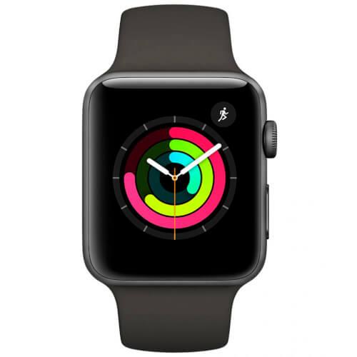 Apple Watch S3 (Gps) 38mm Con Caja Aluminio Gris Espacial | Quonty.com | MQKV2QL/A