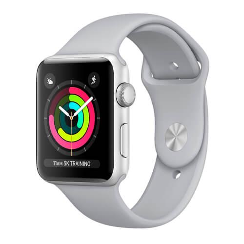 Apple Watch S3 42mm Con Correa Deportiva Gris Luminoso   Quonty.com   MQL02QL/A