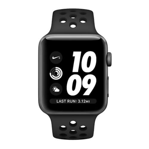 Apple Watch S3 Nike+ 38mm Con Correa Nike Antracia/Negro | Quonty.com | MQKY2QL/A