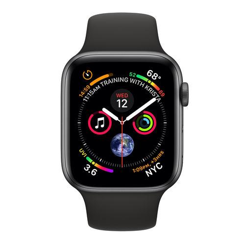 Reloj Inteligente Apple Watch Series 4 Gps Gris/Negro | Quonty.com | MTVD2TY/A