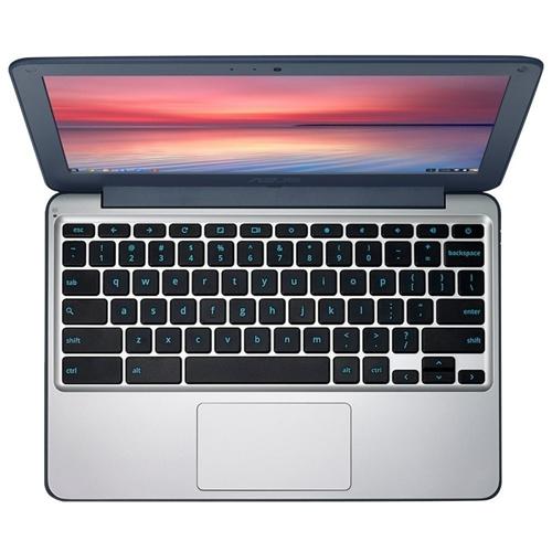 ASUS CHROMEBOOK C202SA-GJ0023 N3060 11,6 2GB S16GB | Quonty.com | 90NX00Y2-M00300