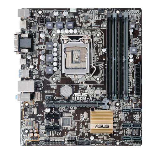 PLACA ASUS B150M-A INTEL1151 4DDR4 HDMI PCX3.0 SATA3 USB3.0 MATX | Quonty.com | 90MB0P40-M0EAY0