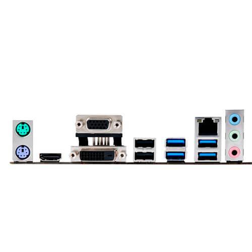 PLACA ASUS B150M-A D3 INTEL1151 4DDR3 HDMI PCIE3.0 6SATA3 USB3.0 MATX   Quonty.com   90MB0MW0-M0EAY0