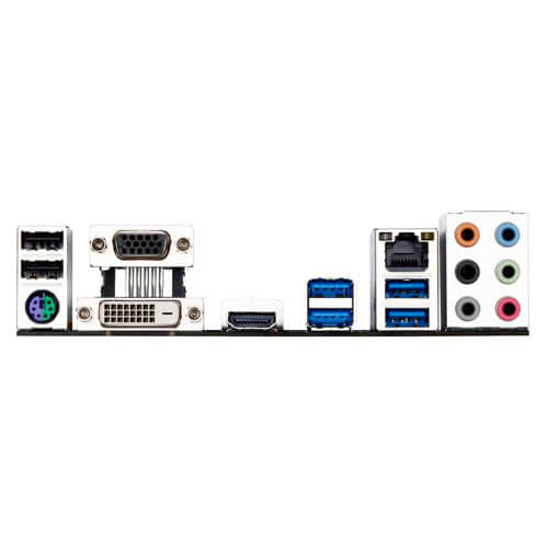 PLACA GIGABYTE B150M-D3H INTEL1151 4DDR4 HDMI PCX3.0 SATA3 USB3.0 MATX | Quonty.com | GA-B150M-D3H