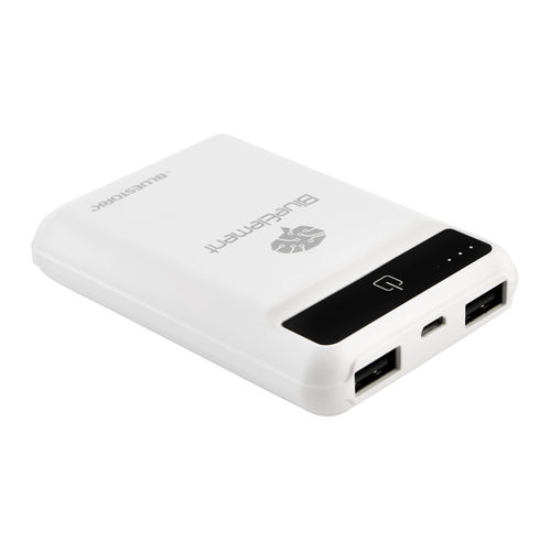 POWERBANK BLUESTORK BK-50-U2-BE-W BLANCO 5000MAH | Quonty.com | BK-50-U2-BE-W