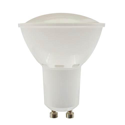BOMBILLA LED OMEGA FOCO GU10 6W 2800K 400LM LUZ CALIDA | Quonty.com | OMELGU10-6W