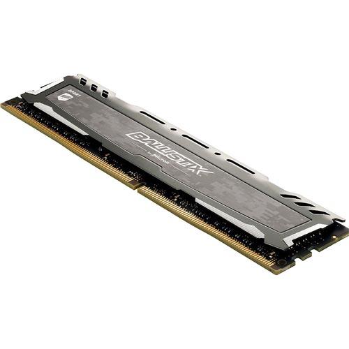 MEMORIA CRUCIAL DDR4 8GB 2666MHZ BALLISTIX LT GREY | Quonty.com | BLS8G4D26BFSBK