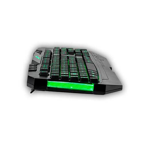 TECLADO B-MOVE N8HAWK GAMING USB | Quonty.com | BM-TCL02