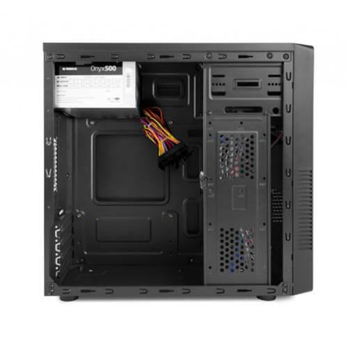 CAJA MINITORRE/MICRO-ATX B-MOVE ONYX 500W USB2.0 METAL NEGRA   Quonty.com   BMONYX