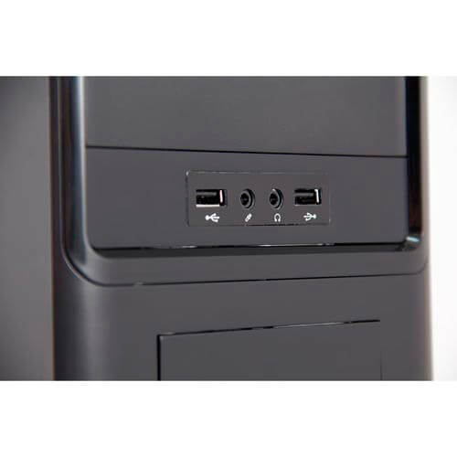 CAJA SEMITORRE/ATX B-MOVE THEA 500W USB2.0 METAL NEGRA | Quonty.com | BMTHEA