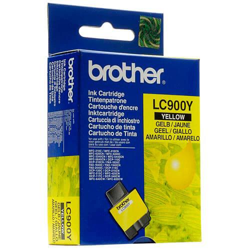 TINTA BROTHER LC900Y AMARILLO   Quonty.com   LC900Y