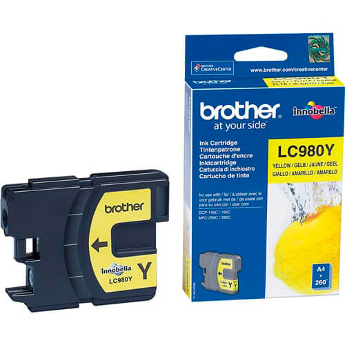 TINTA BROTHER LC980Y AMARILLA | Quonty.com | LC980Y