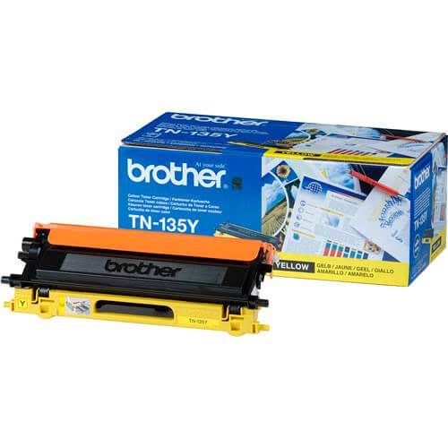 TONER BROTHER TN135Y AMARILLO 4.000PAG | Quonty.com | TN135Y