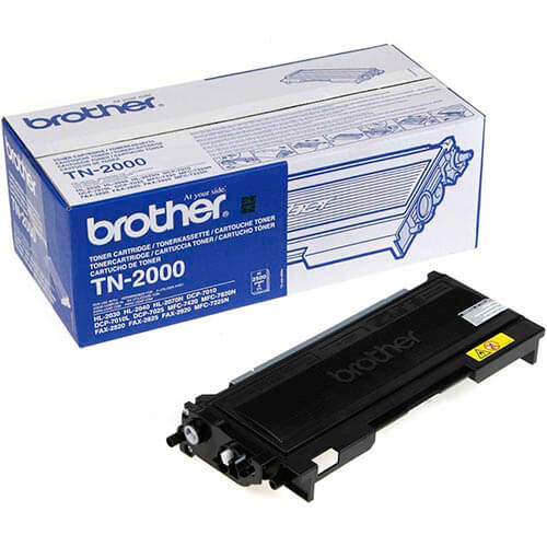 TONER BROTHER TN2000 NEGRO 2.500PAG | Quonty.com | TN2000