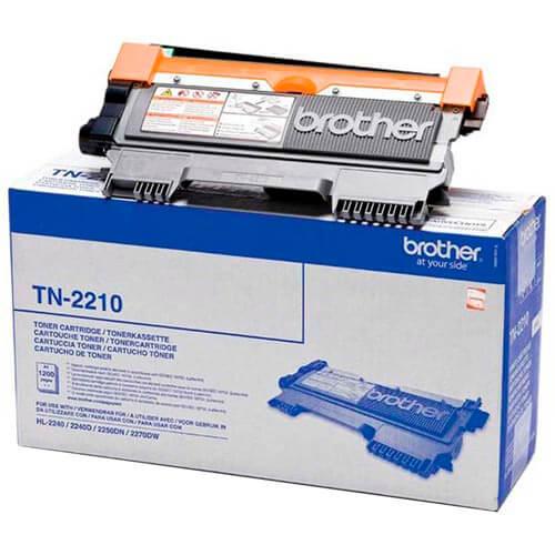 TONER BROTHER TN2210 NEGRO 1.200PAG | Quonty.com | TN2210