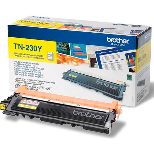 TONER BROTHER TN230Y AMARILLO 1.400PAG | Quonty.com | TN230Y