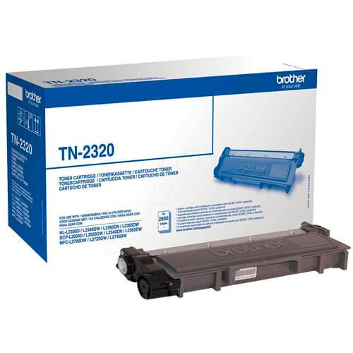 TONER BROTHER TN2320 NEGRO 2.600PAG   Quonty.com   TN2320