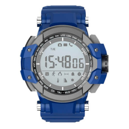 Reloj Deportivo Billow Xs15bl Azul 2,8''   Quonty.com   XS15BL