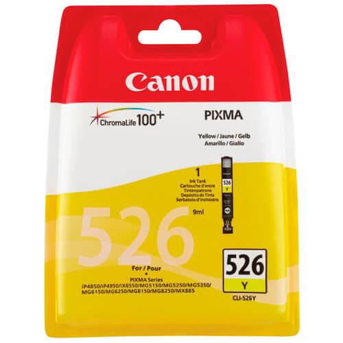 TINTA CANON CLI526Y AMARILLO | Quonty.com | 4543B001