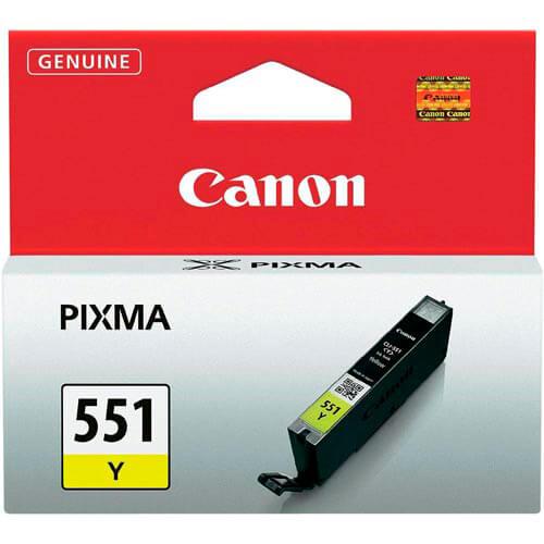 TINTA CANON CLI551Y AMARILLO BAJA | Quonty.com | 6511B001