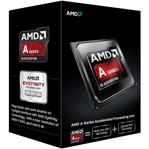 MICRO AMD FM2 X4 A10-7700K 3,5GHZ BOX BLACK EDITION | Quonty.com | AD770KXBJABOX