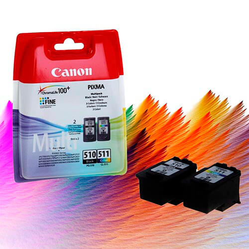 TINTA CANON PG510CL511 PACK | Quonty.com | 2970B010