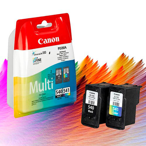 TINTA CANON PG540CL541 PACK NEGRO COLOR | Quonty.com | 5225B006
