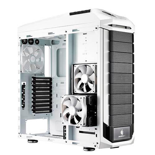 CAJA TORRE/XL-ATX COOLER MASTER STRYKER S/FUENTE USB3.0 C/VENTANA METAL BLANCA | Quonty.com | SGC-5000W-KWN1