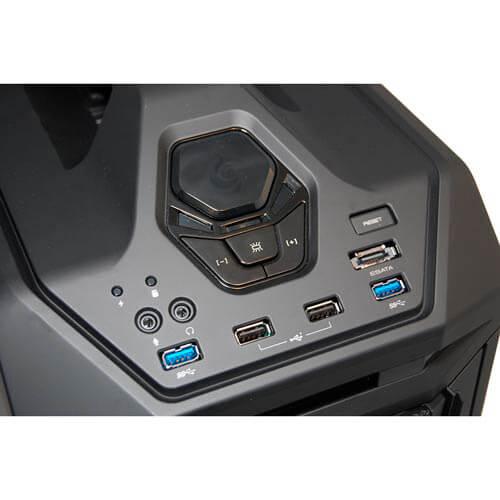 CAJA TORRE/XL-ATX COOLER MASTER TROOPER S/FUENTE USB3.0 LED-ROJO METAL NEGRA | Quonty.com | SGC-5000-KKN1