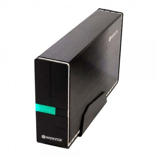 CAJA HDD WOXTER I-CASE 330 3.5'' SATA USB3.0 NEGRA   Quonty.com   CA26-016