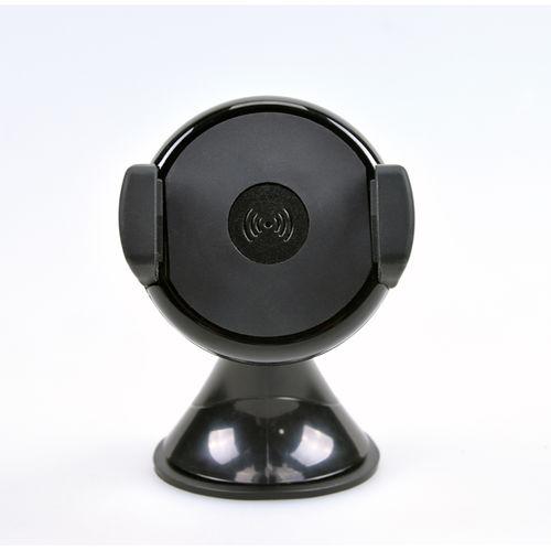 SOPORTE+CARGADOR SMARTPHONE COOLBOX PZ-05-WC COCHE INALAMBRI | Quonty.com | COO-PZ05-WC
