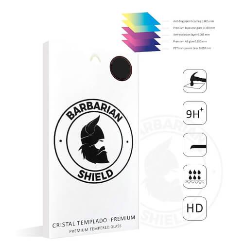 Cristal Templado Premium Barbarian Shield Pocophone F1 | Quonty.com | BARBSHPPF1