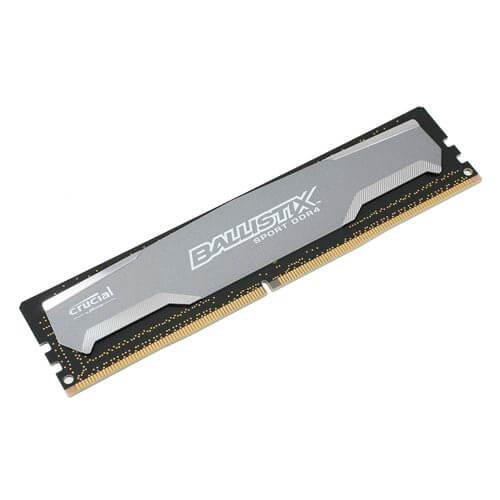 MEMORIA CRUCIAL DIMM DDR4 4GB 2400HZ CL16 1.2V BALLISTIX SPORT | Quonty.com | BLS4G4D240FSA