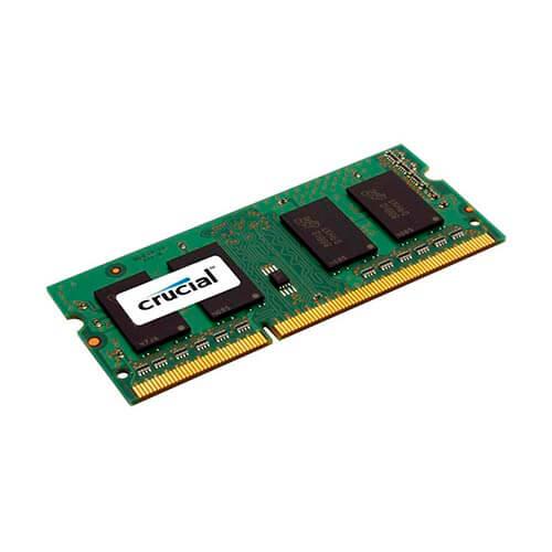 MEMORIA CRUCIAL SO-DIMM DDR2 1GB 667HZ CL5 1.8V | Quonty.com | CT12864AC667