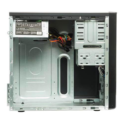 CAJA MINITORRE/MICRO-ATX UNYKA UK6011 500W USB2.0 METAL NEGRA   Quonty.com   51928