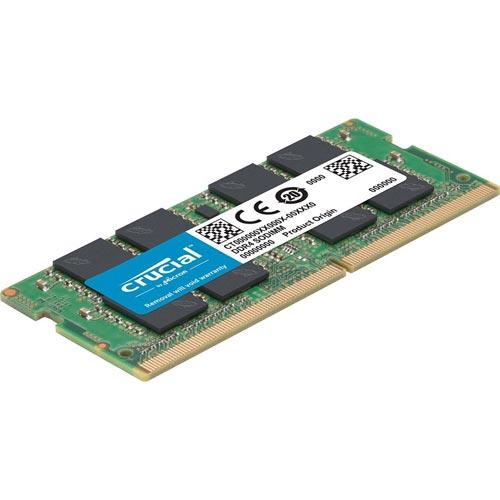 Memoria Crucial Sodimm Ddr4 4gb 2400mhz Cl17 Sr | Quonty.com | CT4G4SFS824A